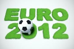 Euro 2012 Fotografia Stock Libera da Diritti