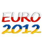 Euro 2012 3D Stock Image