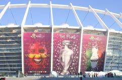 Euro 2012 abschließend in Kiew, Ukraine Stockfotos