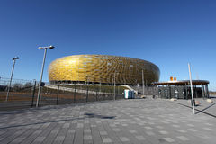 EURO 2012 CHAMPIONSHIP STADIUM IN GDANSK Royalty Free Stock Image