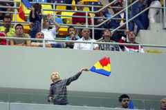Euro 2012 die om Roemenië-Wit-Rusland kwalificeert Royalty-vrije Stock Fotografie