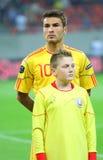 Euro 2012 die om Roemenië-Wit-Rusland kwalificeert Royalty-vrije Stock Foto