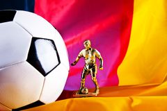 Euro 2012 German team Royalty Free Stock Photos
