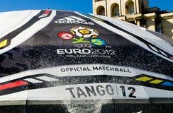 Euro 2012 in Kiev Royalty-vrije Stock Foto's