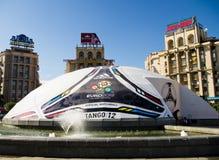 Euro 2012 in Kiev Royalty-vrije Stock Afbeeldingen