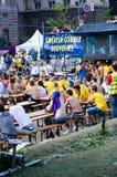 Euro 2012 in Kiev Stock Photo