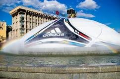 Euro 2012 in Kiew Lizenzfreies Stockbild