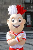 EURO 2012 mascot Royalty Free Stock Photos