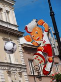 Euro 2012 Mascot Stock Photography