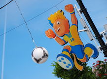Euro 2012 Mascot Stock Photos