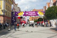 Euro 2012 - Poland Royalty Free Stock Photo