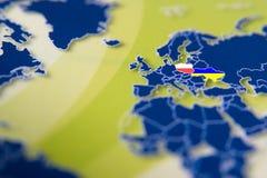 Euro 2012 in Polen en de Oekraïne Stock Foto
