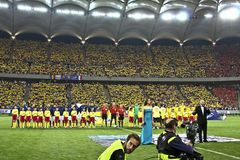 Euro 2012 Qualifying Round (Group D)Romania-France Stock Photography