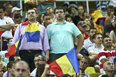 Euro 2012 Qualifying Round (Group D)Romania-France Royalty Free Stock Image