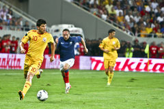 Euro 2012 Qualifying Round (Group D)Romania-France Royalty Free Stock Photography