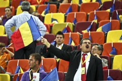 Euro 2012 Qualifying Round (Group D)Romania-France Stock Images