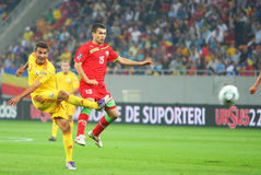Euro 2012 Qualifying Round Romania-Belarus Royalty Free Stock Photography