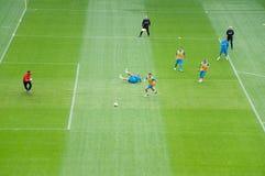 EURO 2012 - squadra di Paesi Bassi fotografia stock