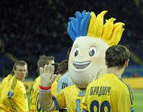 Euro 2012 talismans Stock Image