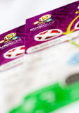 EURO 2012 tickets Stock Photo