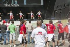 Euro 2012 - Wroclaw, Polonia. Fotografía de archivo