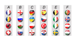 Euro 2016 Royalty Free Stock Photography