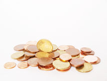 Euro. Money on a background Stock Photography