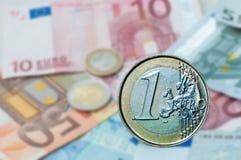 Euro Imagen de archivo libre de regalías