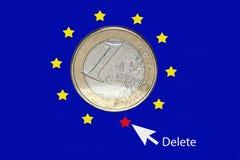 Euro Imágenes de archivo libres de regalías
