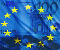 Euro. Currency of pean Union Stock Photography
