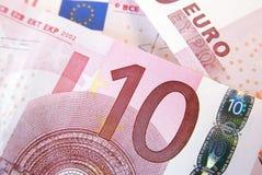 10 euro Stock Foto's