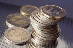 Euro lizenzfreie stockfotografie