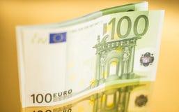 euro 100 Imagen de archivo libre de regalías