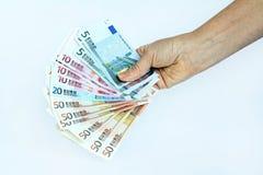 Euro Fotografia de Stock Royalty Free