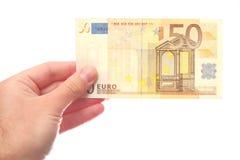 50 euro Royaltyfri Bild