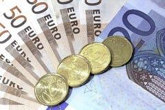 Euro 4 Royalty-vrije Stock Foto's