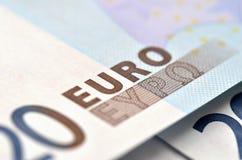 20 euro Foto de Stock