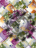 Euro. Background possible to use for printing and project Stock Photo