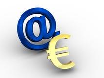 Euro-. ilustração royalty free