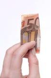 Euro 50 Imagem de Stock Royalty Free