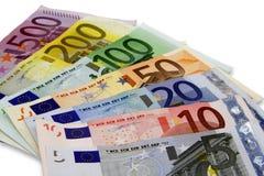 Euro. (money, pe, on white Royalty Free Stock Photography