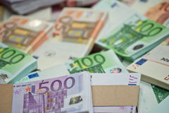 Euro Image libre de droits