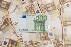 Euro 50 Fotografia de Stock