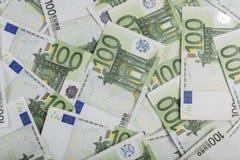 100 euro royalty ilustracja