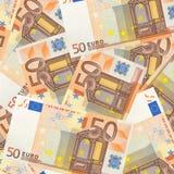 Euro 50 Fotografie Stock Libere da Diritti