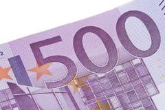 Euro 500 Lizenzfreie Stockbilder