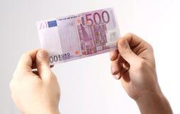 Euro 500 Lizenzfreie Stockfotos