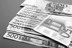 Euro 500 Stockfotos