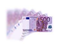 Euro 500 Fotografia de Stock