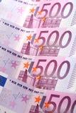 Euro 500 Lizenzfreie Stockfotografie